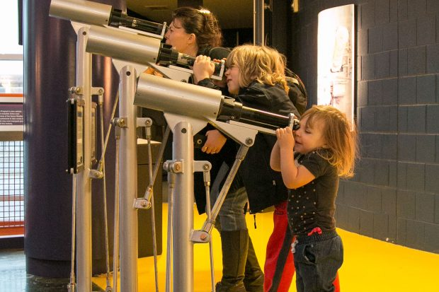 Permalink to: Michigan Science Center – fun for kids at the science museum in Detroit