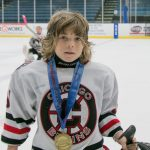 Ivan I Haralanov with Chicago Bruins just won MYHockey Tournament at Fox Valley Ice Arena in Geneva, IL Иван Иванов Хараланов с отбора на Chicago Bruins са шампиони на турнира MYHockey Tournament във Fox Valley Ice Arena в Geneva, IL