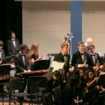 Petya Haralanova Jr. with ATHS Band - Fall Band Concert